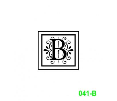 Ekslibrisas B