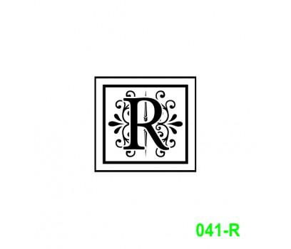 Ekslibrisas R
