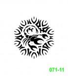 Ekslibrisas - zodiako ženklas Skorpionas