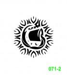 Ekslibrisas - zodiako ženklas Vandenis
