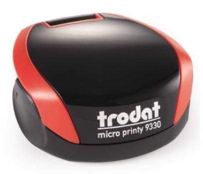Antspaudas Micro Printy 9330, raudonas