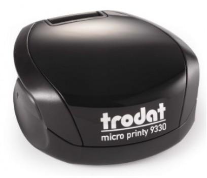 Antspaudas Micro Printy 9330, juodas