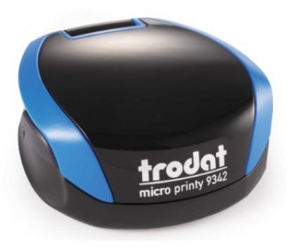 Antspaudas Micro Printy 9342, mėlynas