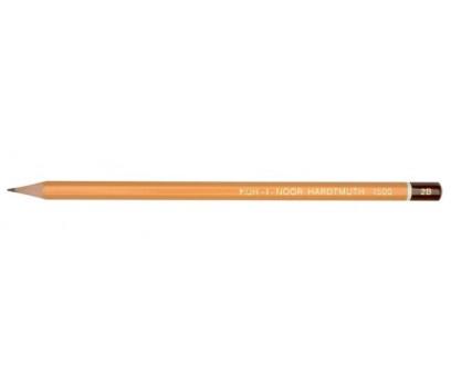 Grafitinis pieštukas be trintuko  KOH-I-NOOR 1500 2B