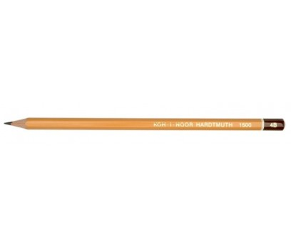 Grafitinis pieštukas be trintuko  KOH-I-NOOR 1500 4B