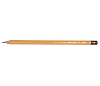 Grafitinis pieštukas be trintuko  KOH-I-NOOR 1500 5B