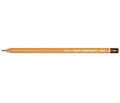 Grafitinis pieštukas be trintuko  KOH-I-NOOR 1500 H