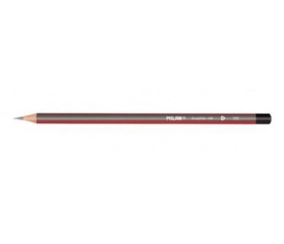 Pieštukas be trintuko Milan HB tribriaunis