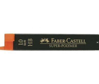 Grafitai automatiniam pieštukui Faber-Castell 0,9mm HB