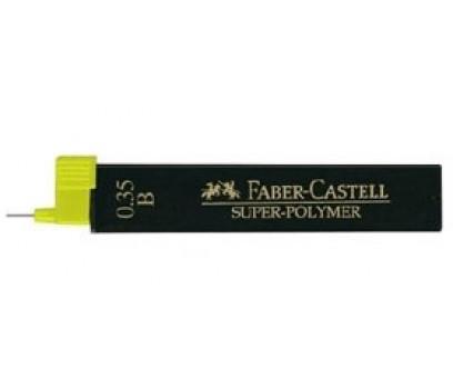 Grafitai automatiniam pieštukui Faber-Castell 0,35mm HB