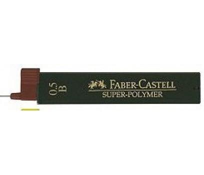 Grafitai automatiniam pieštukui Faber-Castell 0,5mm B