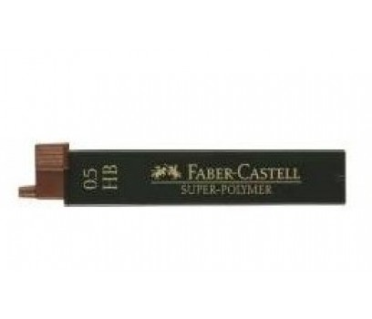 Grafitai automatiniam pieštukui Faber-Castell 0,5mm HB