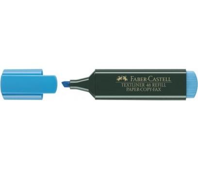 Teksto žymeklis Faber-Castell  1,2-5mm mėlynos sp.