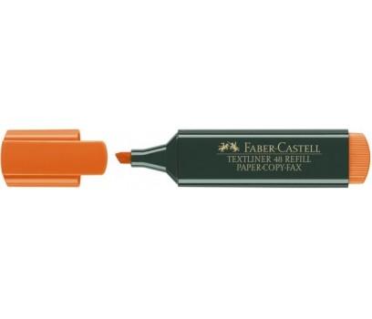 Teksto žymeklis Faber-Castell  1,2-5mm oranžinės sp.
