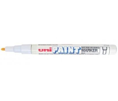 Žymeklis aliejiniu pagrindu UNI Paint PX-21  0,8-1,2mm baltos sp.