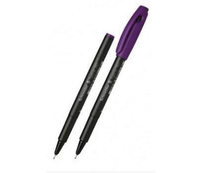 Grafinis rašiklis Schneider Topliner 967  0,4mm violetinės sp.