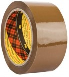 Lipni juosta pakavimui 3M Scotch  50mm x 66m  ruda