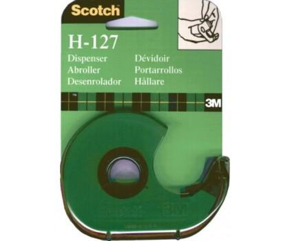 Lipnios juostelės dėklas 3M Scotch H-127, be juostelės