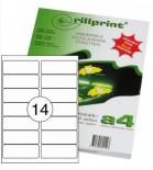 Lipnios etiketės Rillprint A4 105 x 41mm 14 lipd/lap.