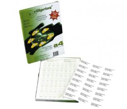 Lipnios etiketės Rillprint A4  70 x 16,9mm 51 lipd/lap.