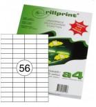 Lipnios etiketės Rillprint A4  52,5 x 21,2mm 56 lipd/lap.