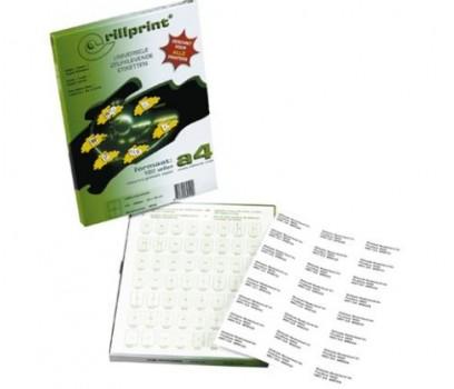 Lipnios etiketės Rillprint A4  48,5 x 16,9 mm 68 lipd/lap.