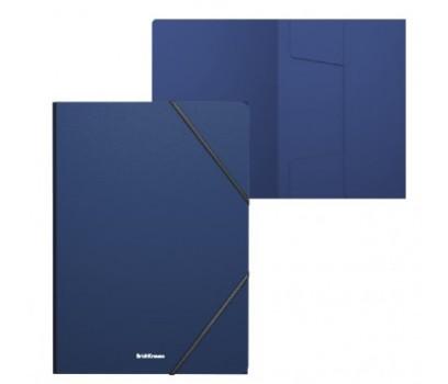 Dėklas plastikinis su gumele A4 Classic ErichKrause 5mm mėlynos sp.