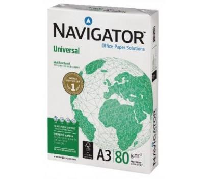 Biuro popierius Navigator A3  80g/m² 500 lapų