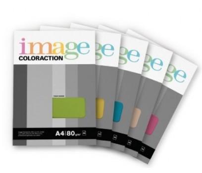 Popierius Image Coloraction A4 80g/m² 50l ryškiai žalia