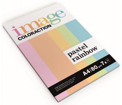 Spalvoto pop.rinkinys pastelinių sp.IMAGE 7x10l.80g/m²