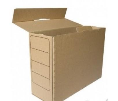 Archyvinė dėžė rudos sp. 12cm  SM-LT