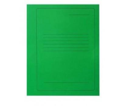 Segtuvėlis kartoninis su įsegėle  žalias     A4