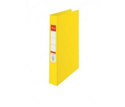 Segtuvas ESSELTE A4/35 4 žiedai geltonos sp.