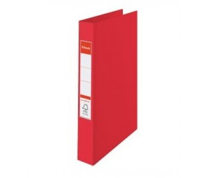 Segtuvas ESSELTE A4/35 2 žiedai raudonos sp.