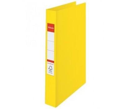 Segtuvas ESSELTE A4/35 2 žiedai geltonos sp.